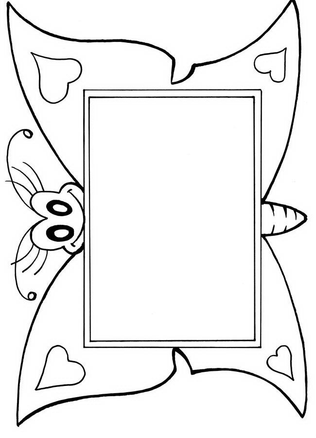 Обзор Черно белые рамки для поздравлений