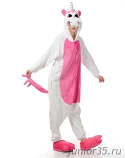 Заказать. Пижама Кигуруми Розовый единорг   Арт. K-006 6c4b80edf00a0