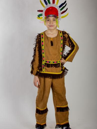 Как сделать костюм для индейца своими руками 80