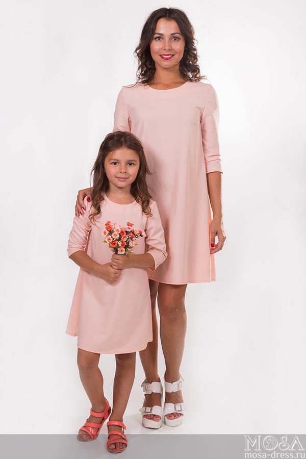 Комплект платьев мама и дочка
