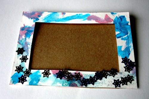 Фото рамки своими руками из картона