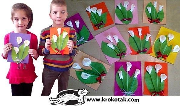 Подарки на 8 марта  5 класс