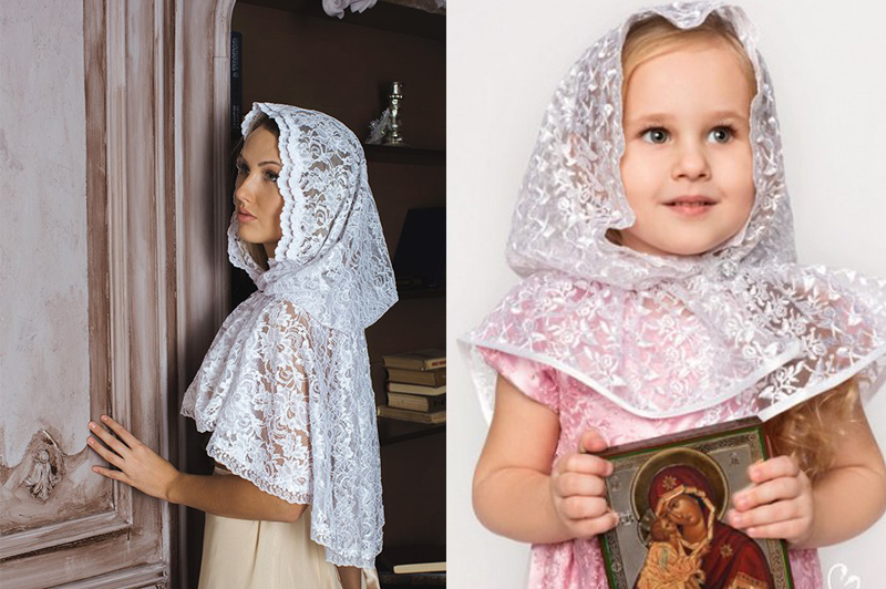 Платок для крестной мамы