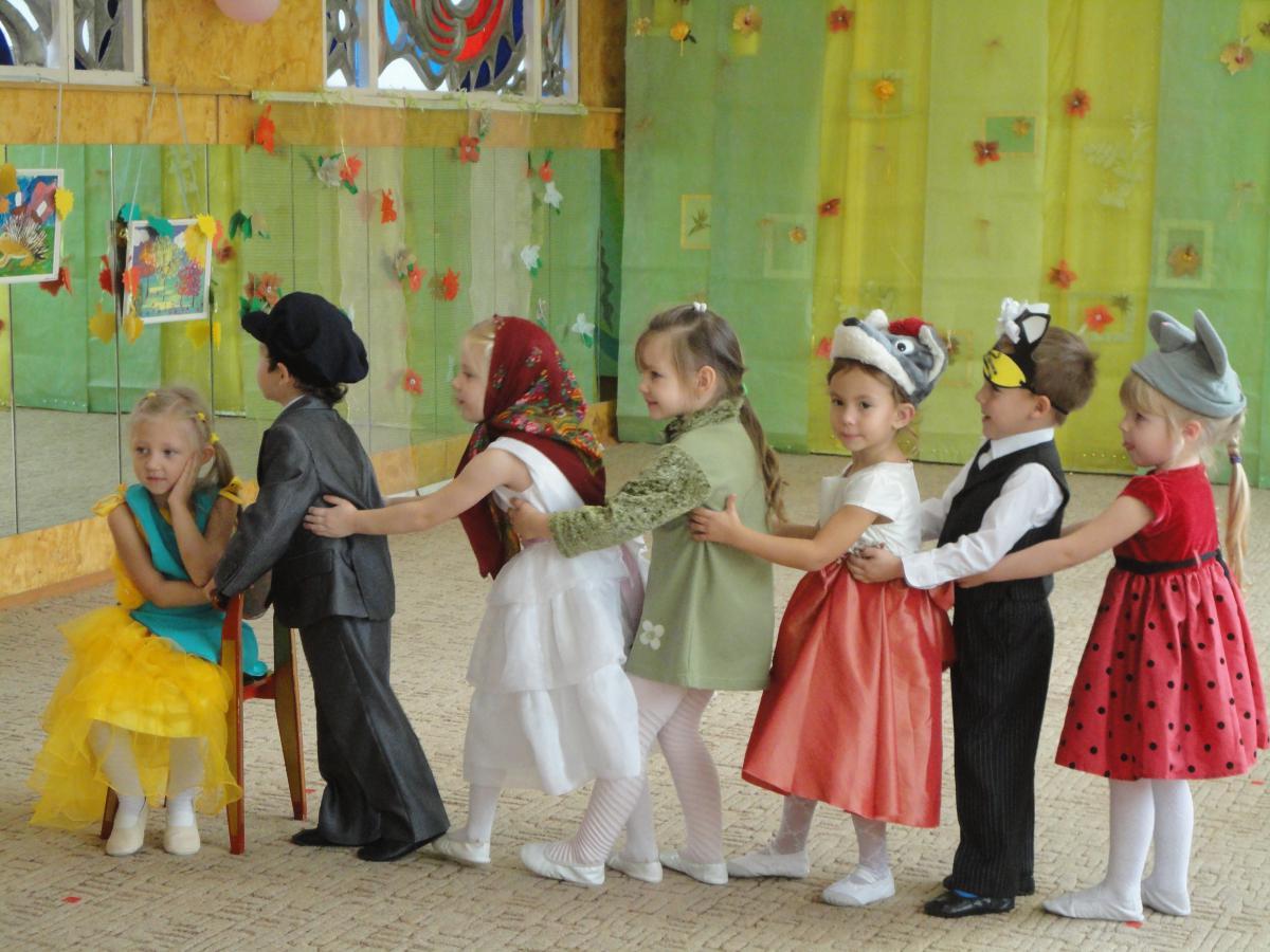 Игры на весеннем празднике в детском саду