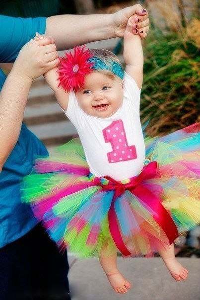 Юбка из фатина своими руками для девочки 1 год