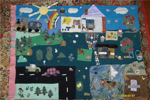Как сшить развивающий коврик для ребенка?